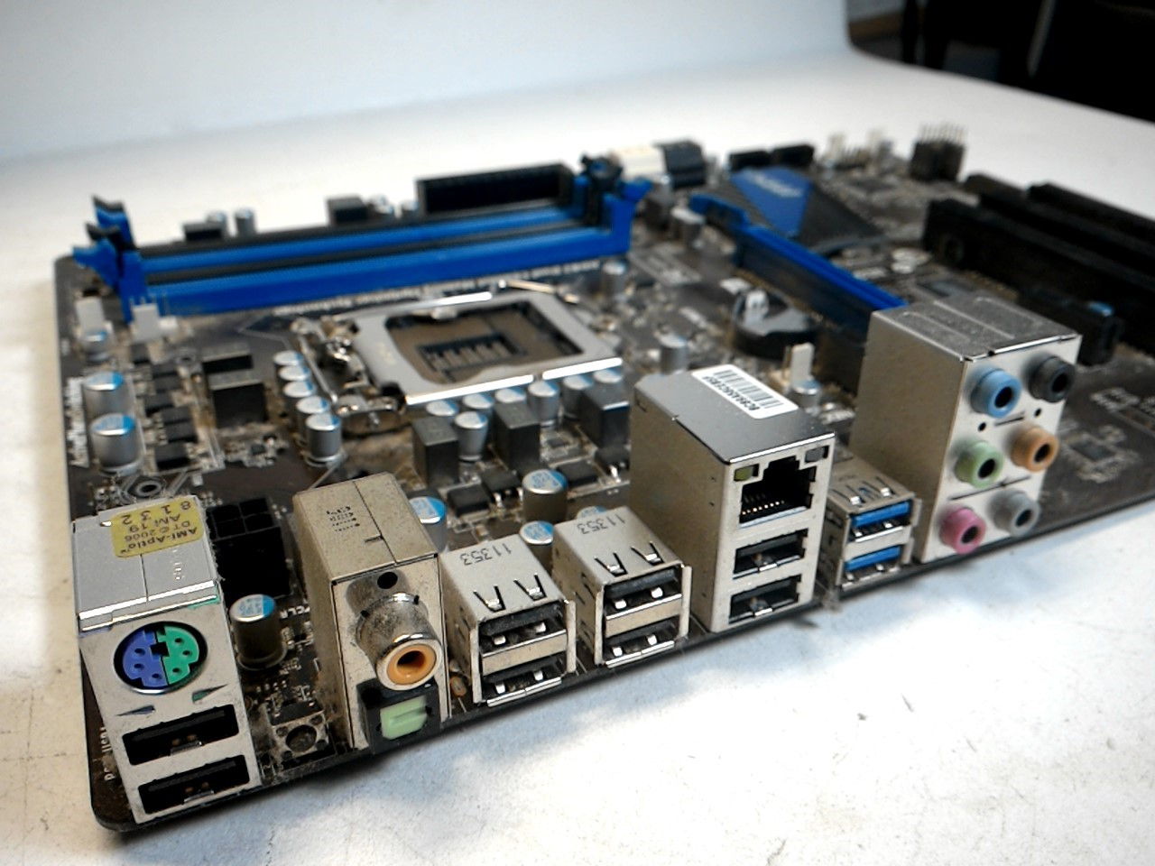 MSI P67A-C43 B3 MS-7673 Intel Socket 1155 Motherboard Untested AS ...