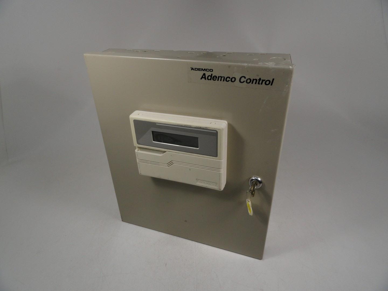 Honeywell N8512mx Security Alarm Board W Ademco Control Keypad Burglar Metal Case Used