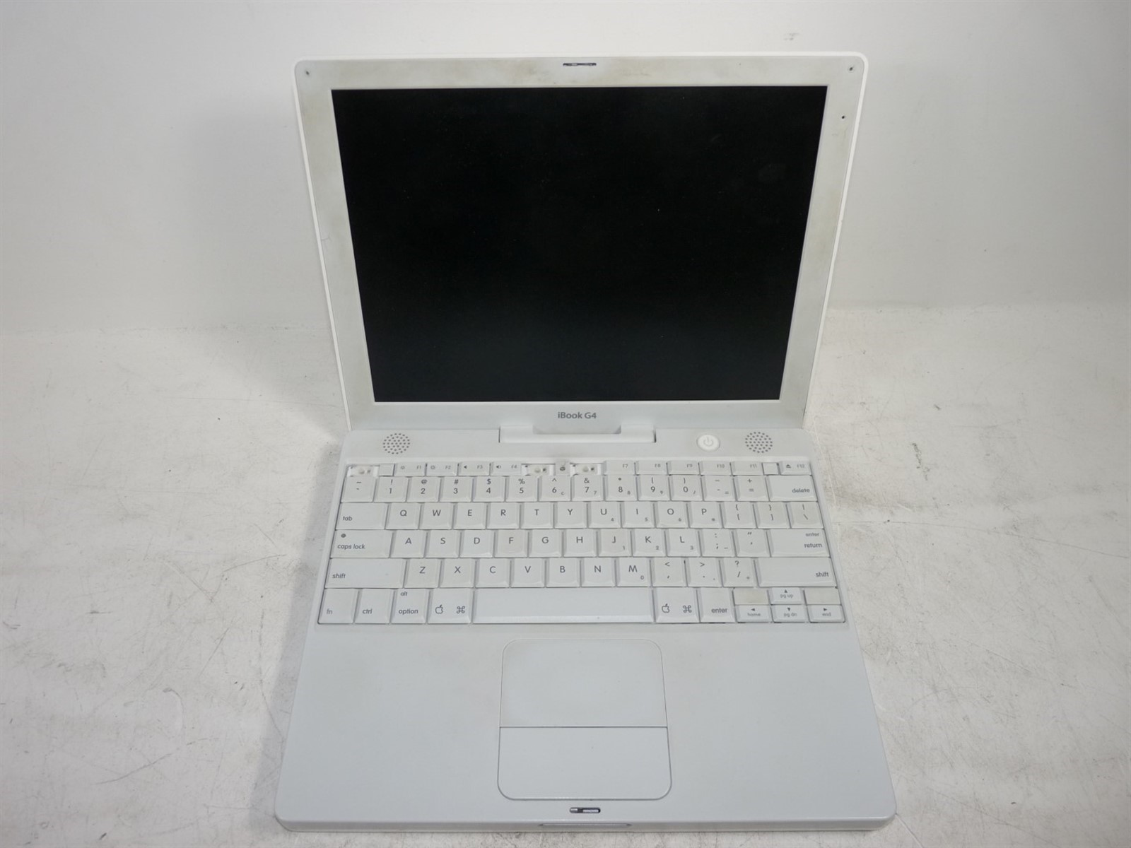 apple ibook g4 a1054 powerpc 1 07ghz 256mb 30gb cd rom post rh ebay com Apple iBook 1999 Apple iBook 2001