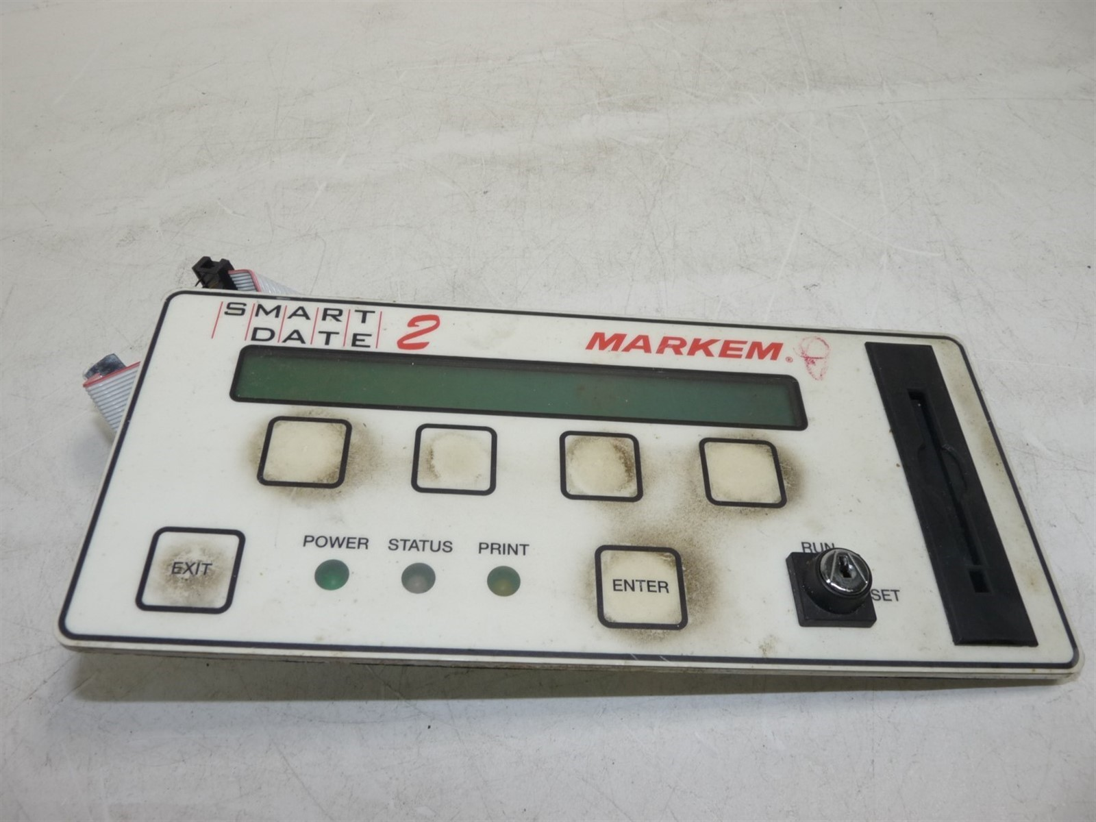 Markem Smart Date 2 Control Panel PC-4002B A 31B69A1 Untested AS-IS For  parts or not working