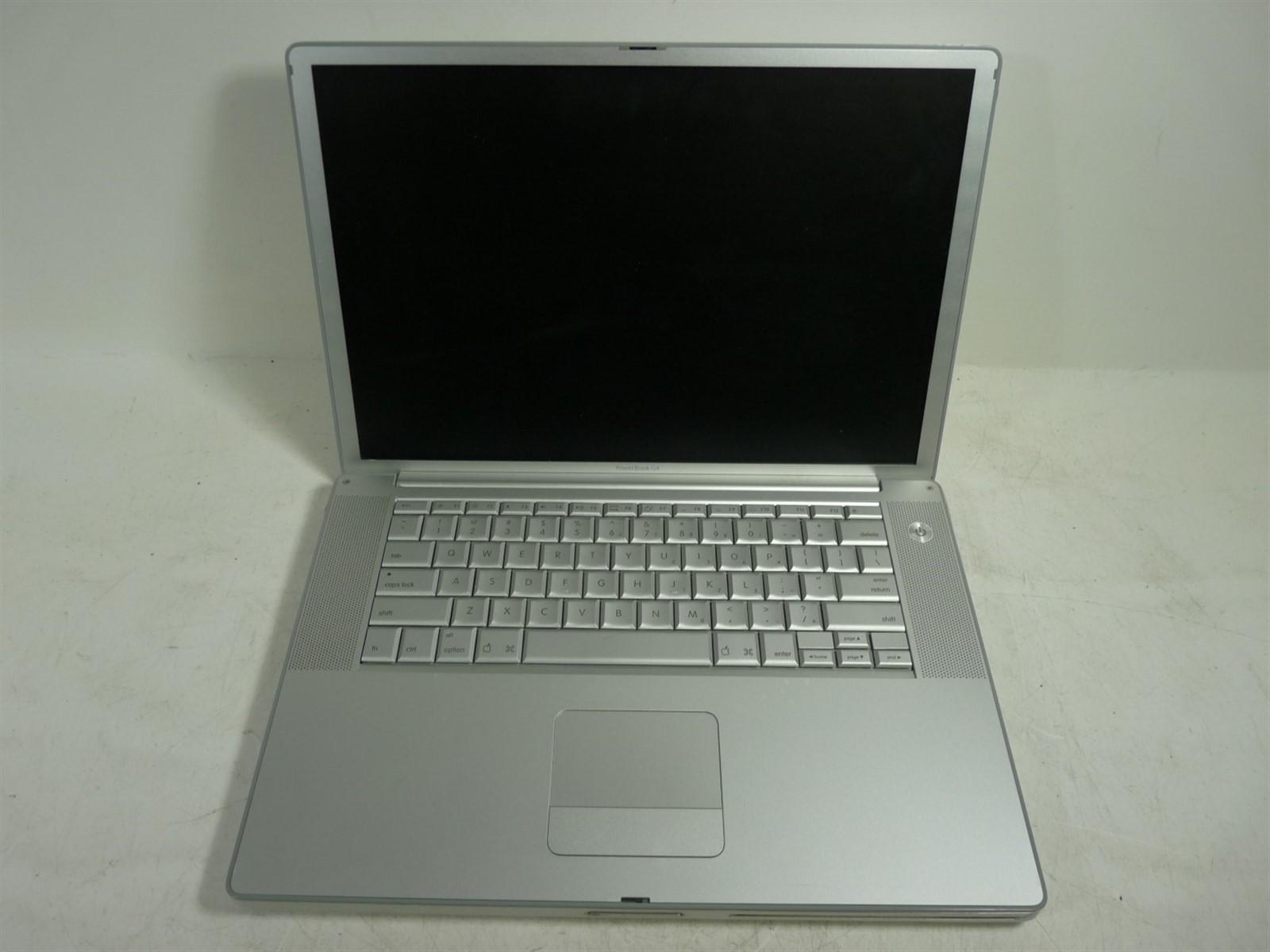 apple powerbook g4 a1106 laptop doesn t power on 0 ram 0 hd as is ebay rh ebay com MacBook Air powerbook g4 17 service manual