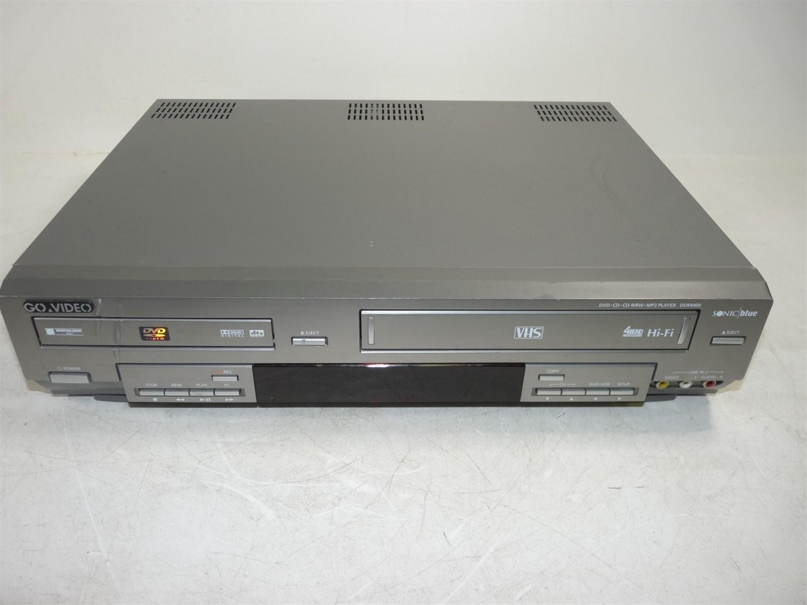 go video dvr4400 dvd vcr combo player limited testing as is ebay rh ebay com