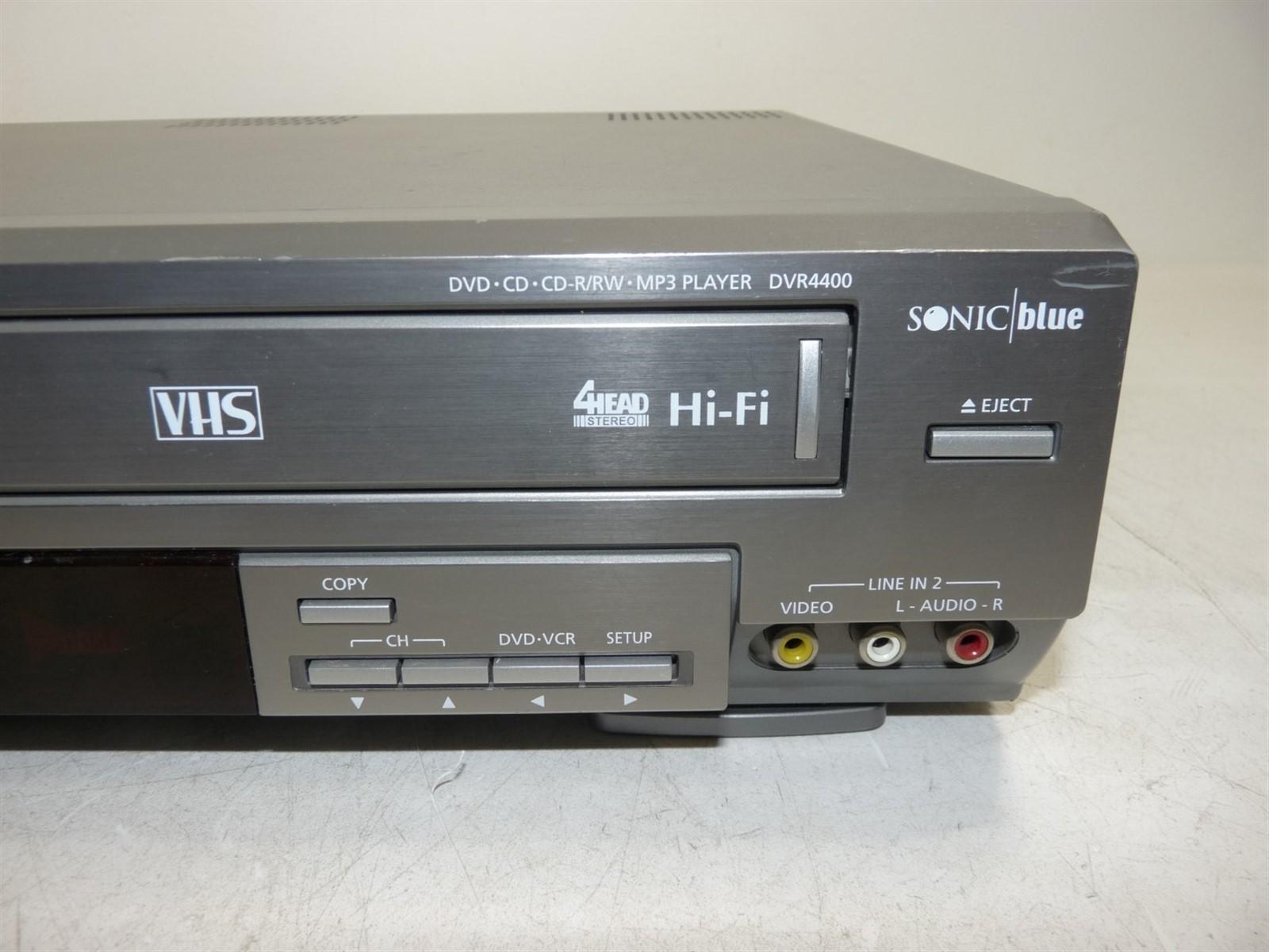 go video dvr4400 dvd vcr combo player limited testing as is ebay rh ebay com  go video dvr4300 manual