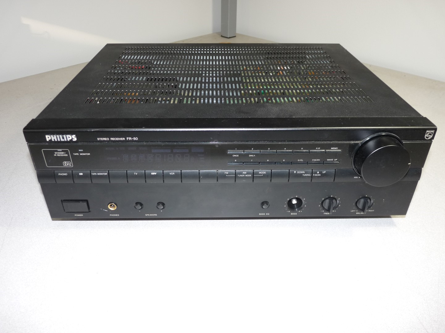 philips fr 50 stereo receiver home theater audio video power tested rh ebay com Yamaha Stereo Receiver Best Stereo Receivers Vintage
