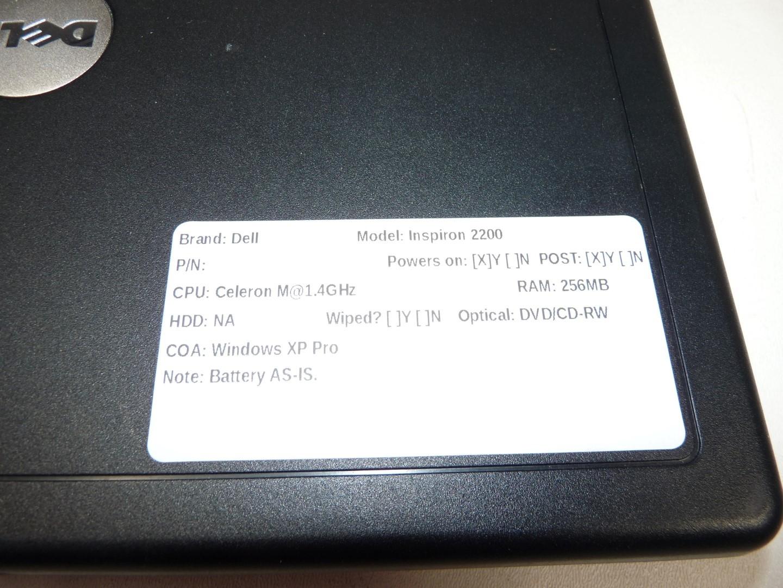dell inspiron 2200 laptop celeron m 1 4ghz 256mb boots w dvd cd rw rh ebay com Customer Service Books Manual Book