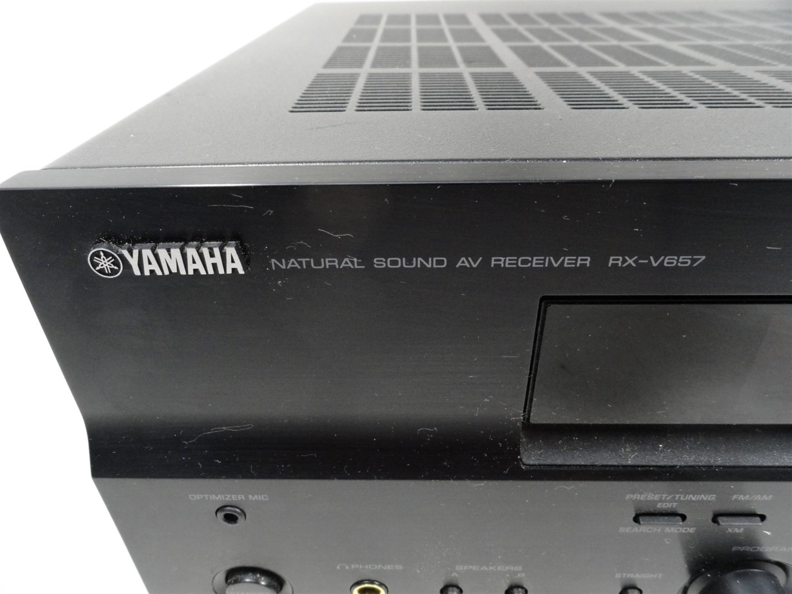 Details About Yamaha Rx V657 Cinemadsp 71 Channel Receiver Limited Testing As Is