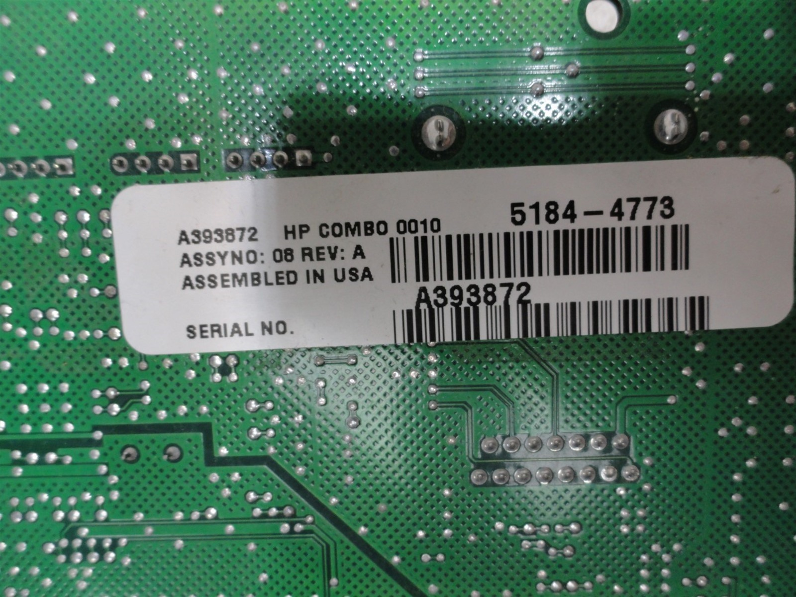 DRIVER FOR HP 5184-4773
