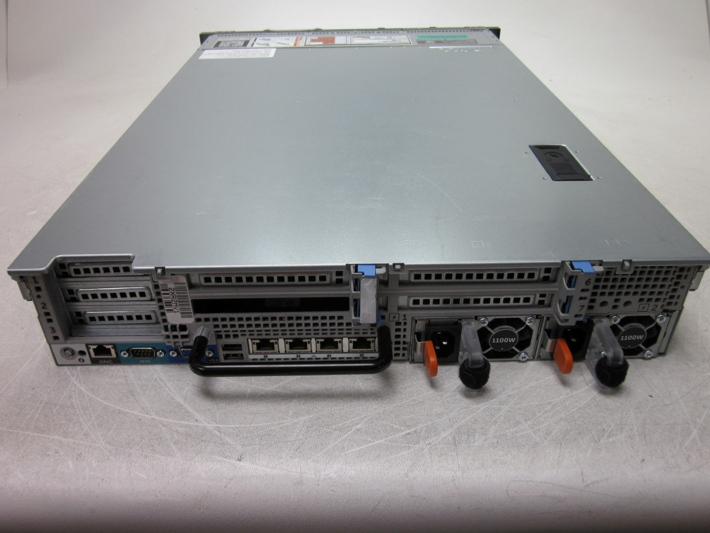 Details about Dell PowerEdge R720 2U Server Dual Xeon E5-2660 2 20GHz 128GB  Boots 2x 1100w PSU